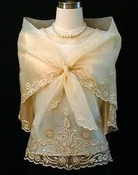 kimona dress beige kimona with alay 5410 barongs r us