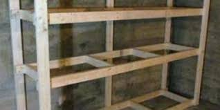 Free Standing Garage Shelves Plans by Image Of Garage Shelf Plans Designgarage Shelves Ideas Diy Storage
