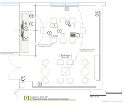 Conference Room Floor Plan Av System Design Drawings Global Interactive Solutions Llc