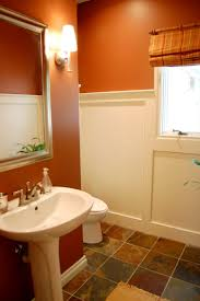 orange bathroom decorating ideas 82 best more perfect bathroom wall color images on pinterest
