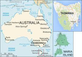 map of tasmania australia rocks of island tasmania from painted to fossil