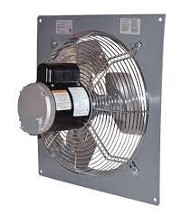 14 inch wall fan wall mount panel type supply fan 14 inch 1950 cfm direct drive p14