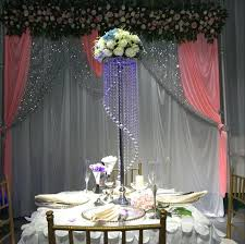 wedding backdrop online 110cm fashion luxury acrylic wedding road lead table