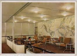 Interiors Of Edmonds The Hindenburg U0027s Interior Passenger Decks Airships Net