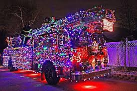 Firefighter Christmas Lights Decorations by Merry Christmas From All Of Us First Responders Police Ems And