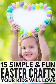 15 simple and easy easter crafts for kids you u0027ll fall in love with