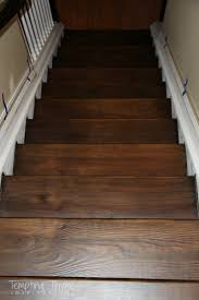 Putting Laminate Flooring On Stairs Heading On Up Installing New Stair Risers Tempting Thyme