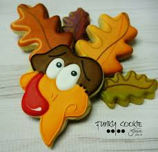 111 best thanksgiving decorated cookies images on fall