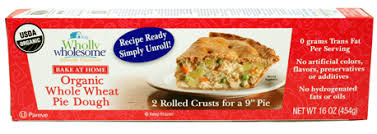 Blind Baking Frozen Pie Crust Organic Pie Shells Made With All Natural Wholesome Ingredients