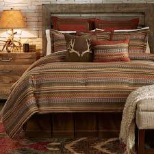 image of cabin style bedding