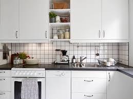 kitchen style black white tile kitchen amazing black and white