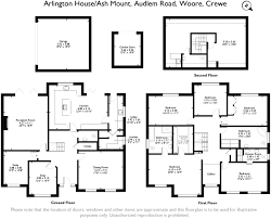 Arlington House Floor Plan by 5 Bedroom Detached House For Sale In Ash Mount Woore Cw3 Cw3