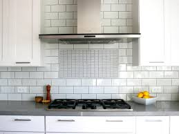 White Kitchen Backsplashes White And Grey Kitchen Backsplash Great Home Decor Versatility