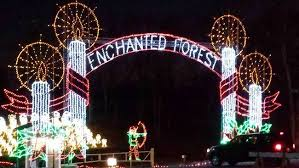 enchanted forest christmas lights top 10 christmas light displays in arkansas 2017 only in arkansas