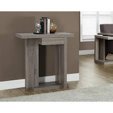 modern console table with drawers modern console table accent shelf drawer entryway storage wood sofa