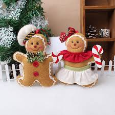 1 pcs pack sale ornaments gingerbread decorated