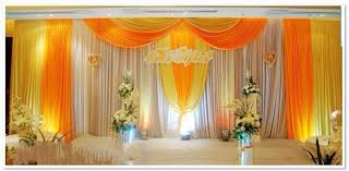 wedding backdrop on stage dining room design customer design wedding stage decoration