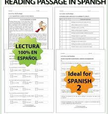 spanish daily routines reading woodward spanish