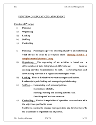 Example Of Education Resume by Iii 1 Educational Management