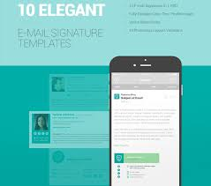 10 free email signature templates html css web design freebies