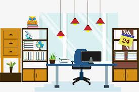 bureau du chef bureau du chef en matière de vecteur bureau du directeur général