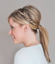 mature pony tail hairstyles for a mature french braid hairstyle try the double braided