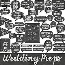 wedding party supplies wedding photo booth props kit konsait bridal shower