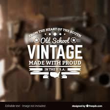 design a vintage logo free school vintage logo vector free download