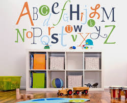 Wall Decals For Every Kids Room - Alphabet wall decals for kids rooms