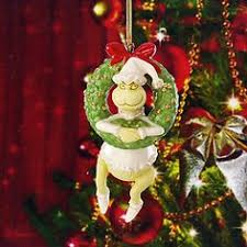 grinch takes the cake ornament by lenox