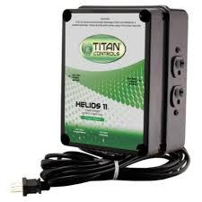 titan controls helios 11 4 light controller 240v for sale