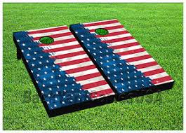 red white blue beanbag toss game w bags game boards