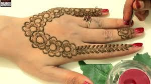 easy stunning designer henna mehndi designs for side