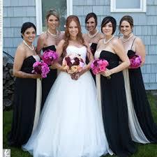black and white bridesmaid dress designs ideas wedding dress