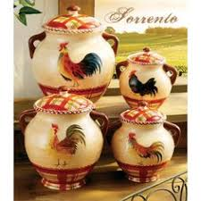 le rooster kitchen canister set kitchen canister sets canister