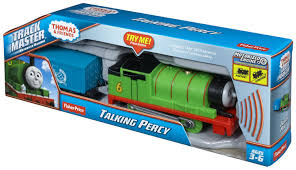 fisher price thomas train trackmaster talking percy
