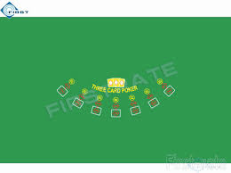 felt bridge table covers three card layout poker table cloth