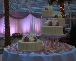 wedding cake tiers separated tier wedding cake a wedding cake