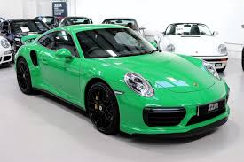 porsche 911 viper green used 2017 porsche 911 turbo 991 turbo s pdk for sale in kings