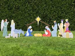 nativity outdoor the complete nativity outdoor nativity store