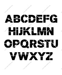 bold printable alphabet letters stencil letters free printable stencil letters fonts numbers