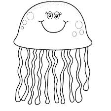 free coloring pages jellyfish jellyfish for coloring free coloring spongebob jellyfish coloring