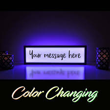 make your own light up sign custom message sign your message here custom sign create