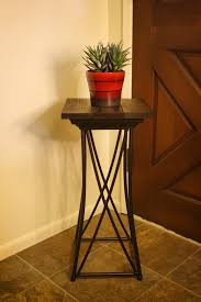 thrift store lamp turned rustic side table u2013 salvage seattle