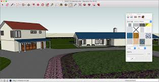 Home Designer Pro Roof Return by Adding Colors And Textures With Materials Sketchup Knowledge Base
