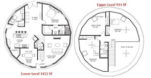 dome homes floor plans 2 story floor plan probably not circular though would work as a