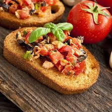 recette canapé recette canapés aux tomates