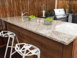 outdoor kitchen countertop ideas outdoor kitchen countertops pictures tips expert ideas hgtv