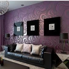 Purple Colour In Bedroom - for living room bedroom 3d geometric wallpaper roll sprinkle gold