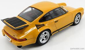 ruf porsche 2017 gt spirit gt161 scale 1 18 porsche 911 964 ruf ctr 1992 yellow